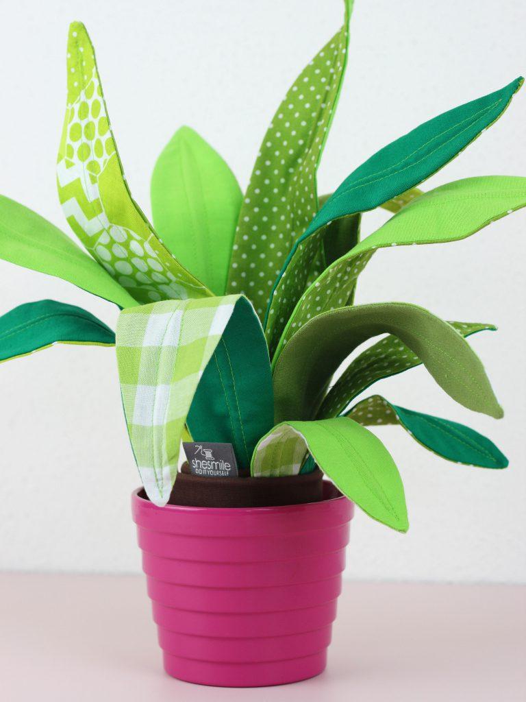 """Zimmerpflanzen nähen """"Frieda Flower"""""""