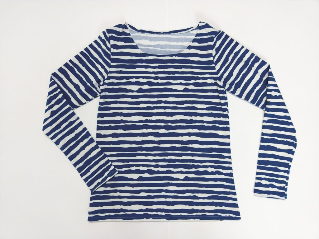 Jerseyshirt bügeln