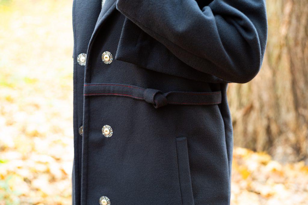 Detailbild Mantel seitlich Mantel Josi