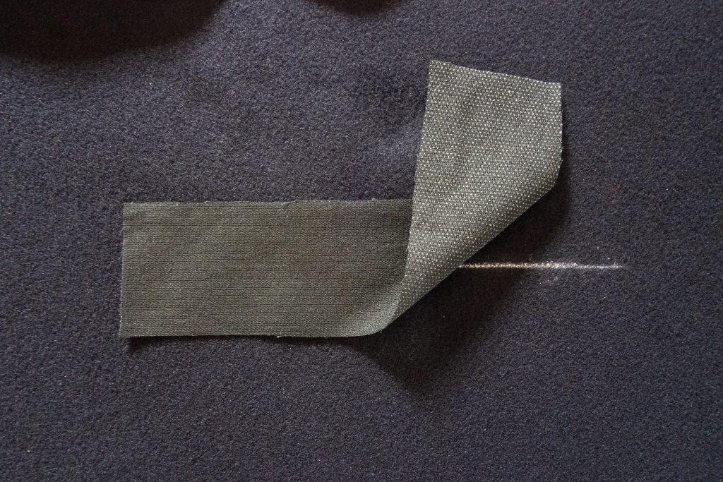 Tascheneingriff bebügeln