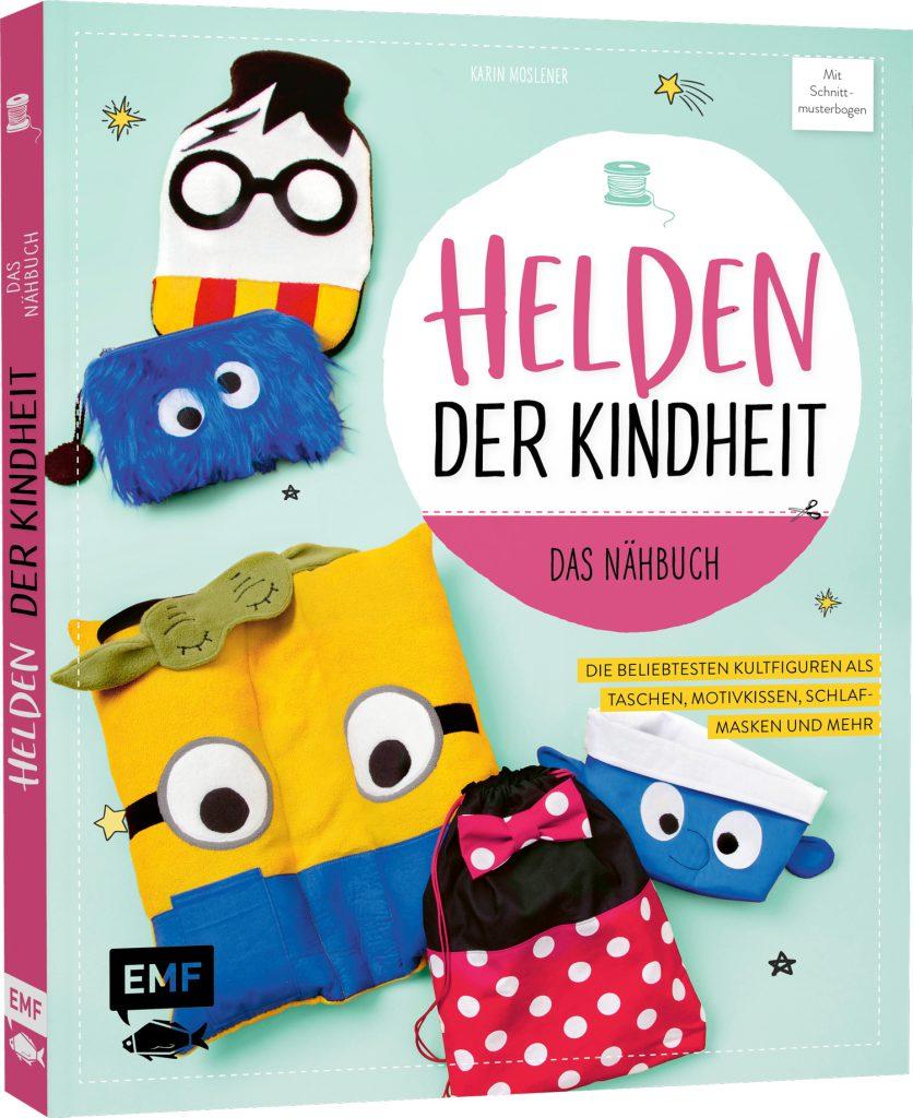 Nähbuch-Cover: Helden der Kindheit
