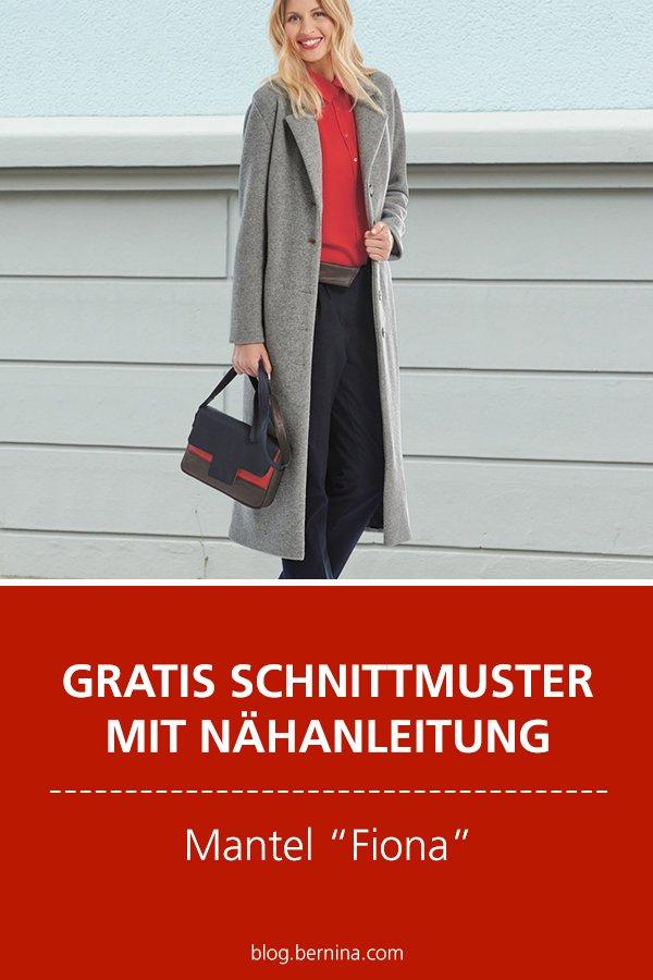 "Gratis-Schnittmuster & Nähanleitung: Mantel ""Fiona"" für Frauen"