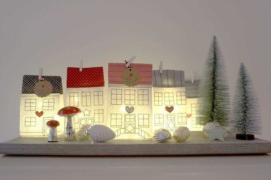 Lichthäuser für Weihnachten