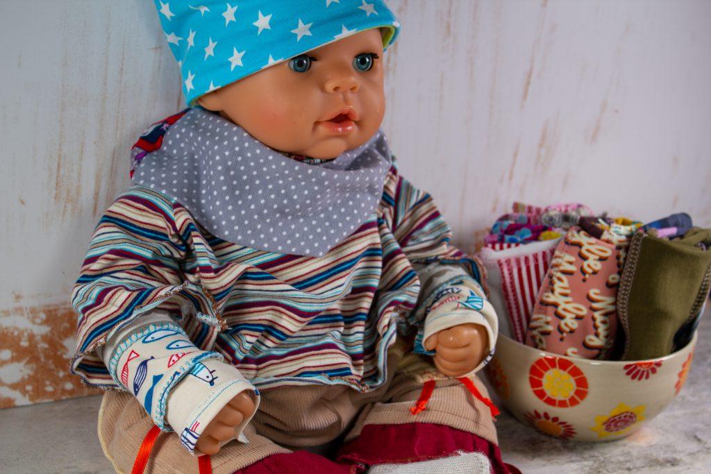Pulswärmer für die Puppe