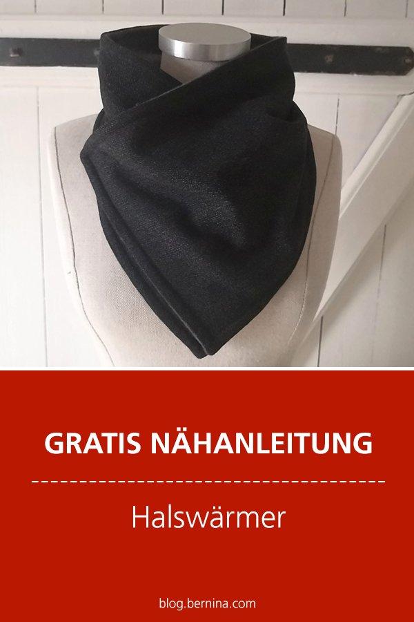 Kostenlose Nähanleitung: Hals-Wärmer / Schal