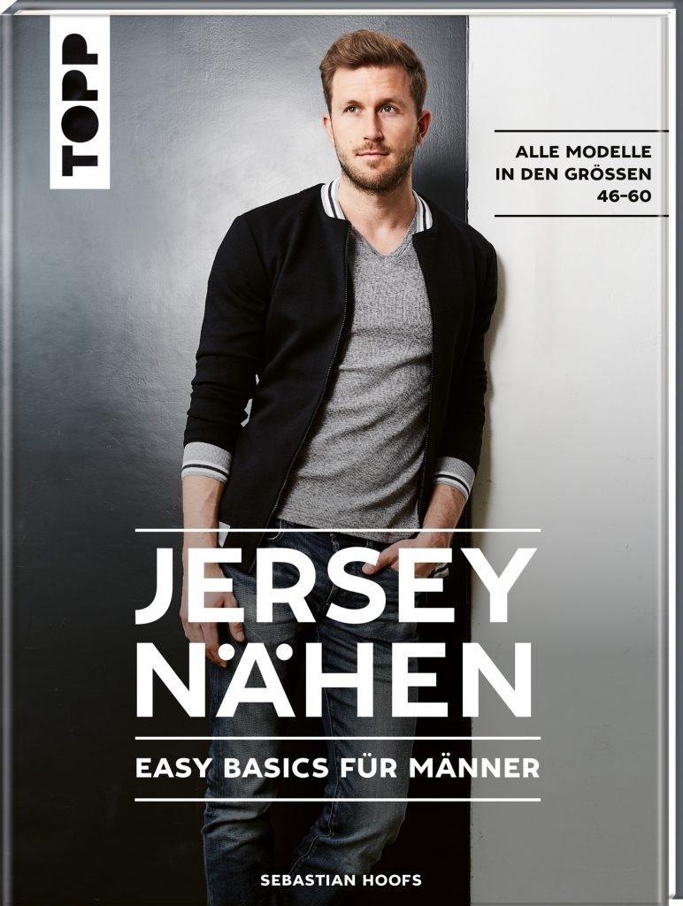 Buch-Cover Jersey nähen, Easy Basics für Männer