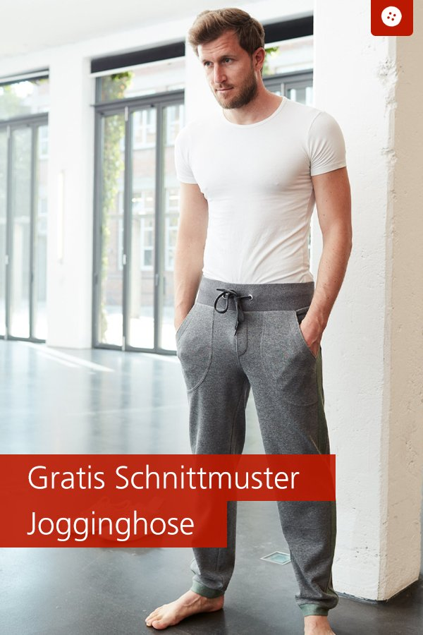 Gratis-Schnittmuster & Nähanleitung: Jogginghose