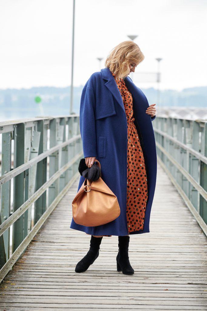 Perfektes Winteroutfit mit Tasche