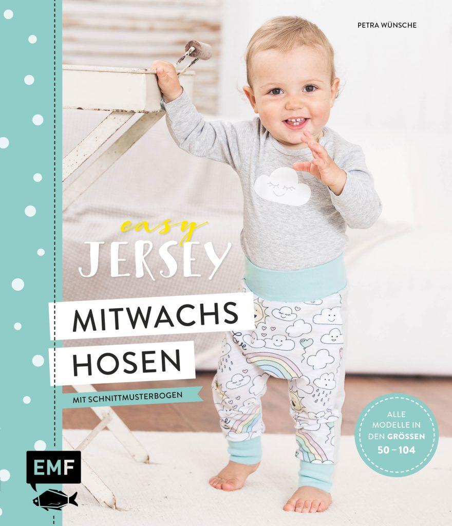 Buch-Cover Easy Jersey nähen, Mitwachshosen