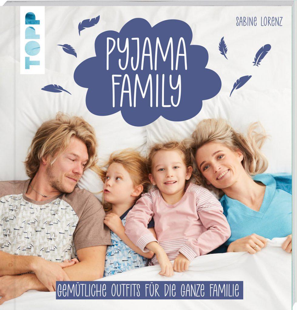 Buchcover Pyjama-Family: Pyjama-Shorts nähen