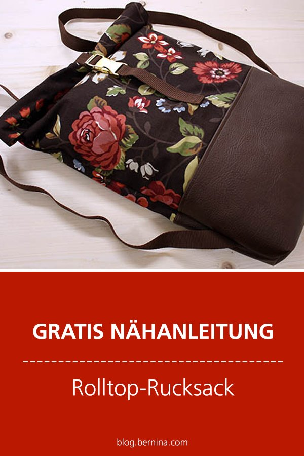 Gratis-Schnittmuster & Nähanleitung: Rucksack