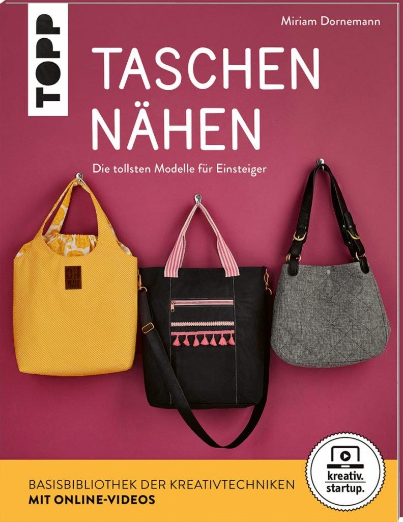 Titelseite Buch Taschen nähen