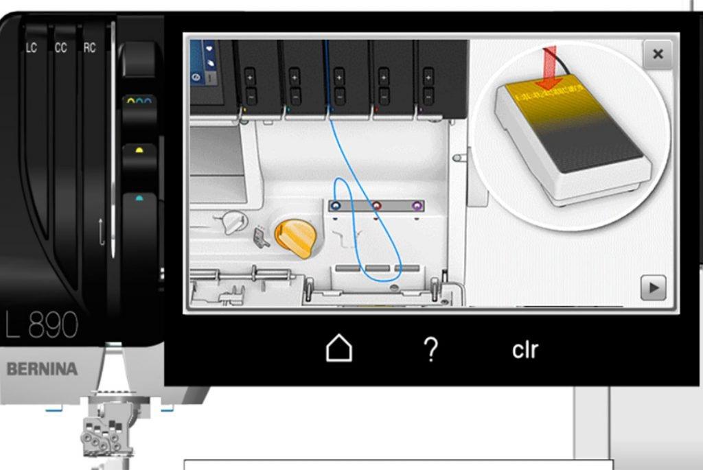 Simulator BERNINA Overlock/Coverstitch-Combo L 890