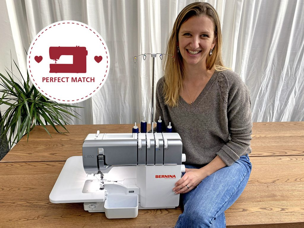 "Kathrin und BERNINA L 850 - ""Perfect Match"""