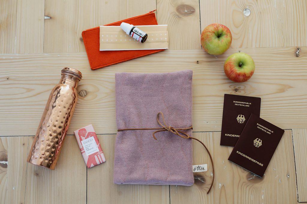Quilten mit der Nähmaschine - Reisepasstasche
