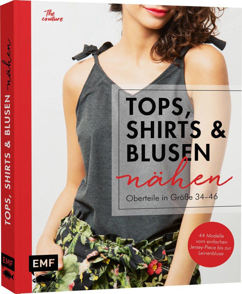 Buchcover: Tops, Shirts und Blusen nähen
