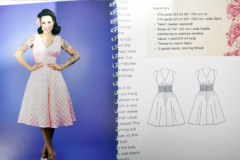 Sommerkleid Nahen Im Vintage Stil Raffiniert Aber Einfach