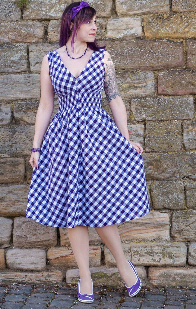 Sommerkleid im Vintage-Stil: der PopOver-Dress