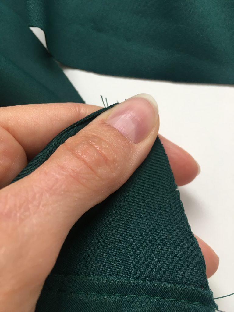 Knips zur Markierung der Mitte
