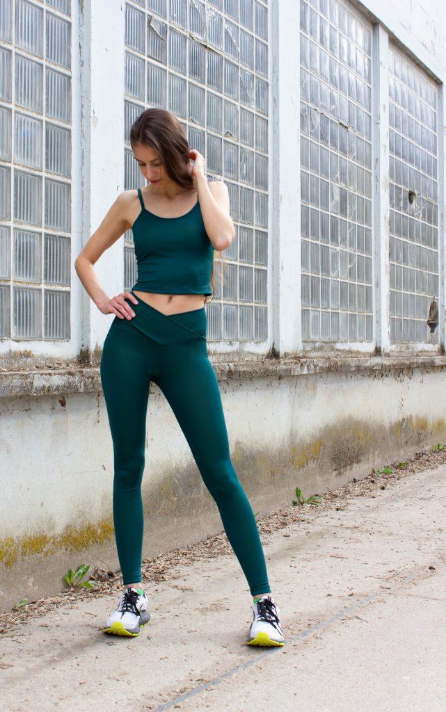 Yoga Leggings nähen für Einsteiger