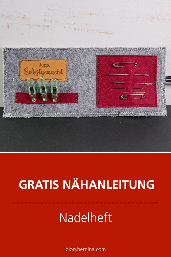 Gratis-Schnittmuster & Nähanleitung: Nadelheft /Nadeletui