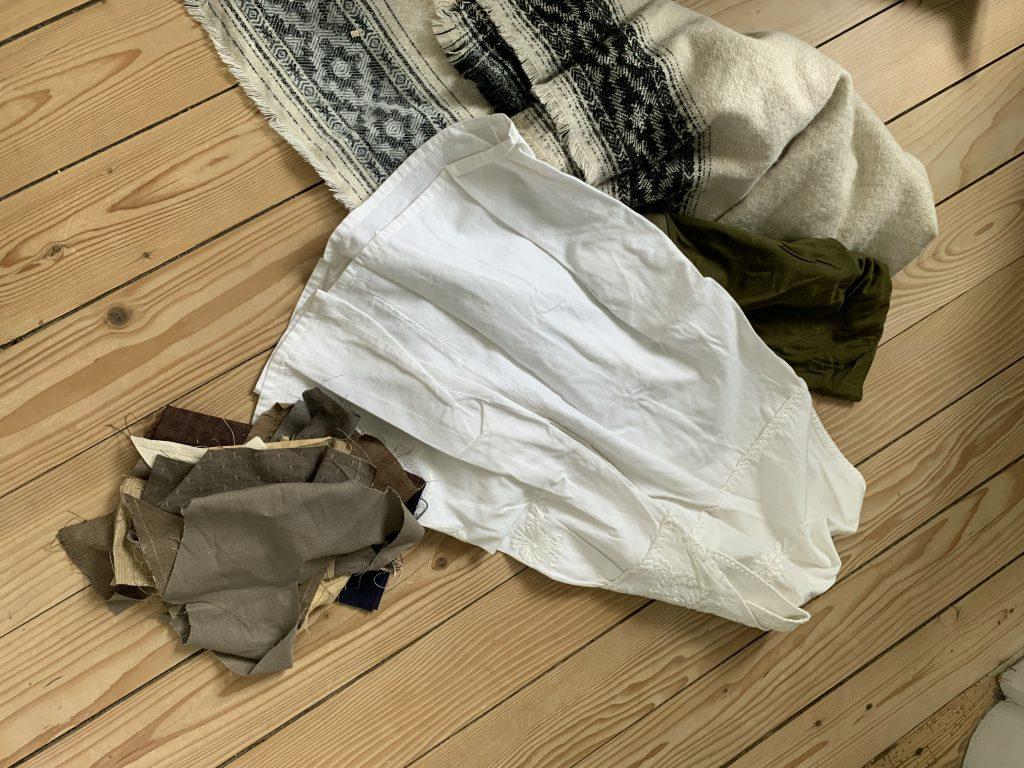 Material zum Patchwork-Tasche nähen