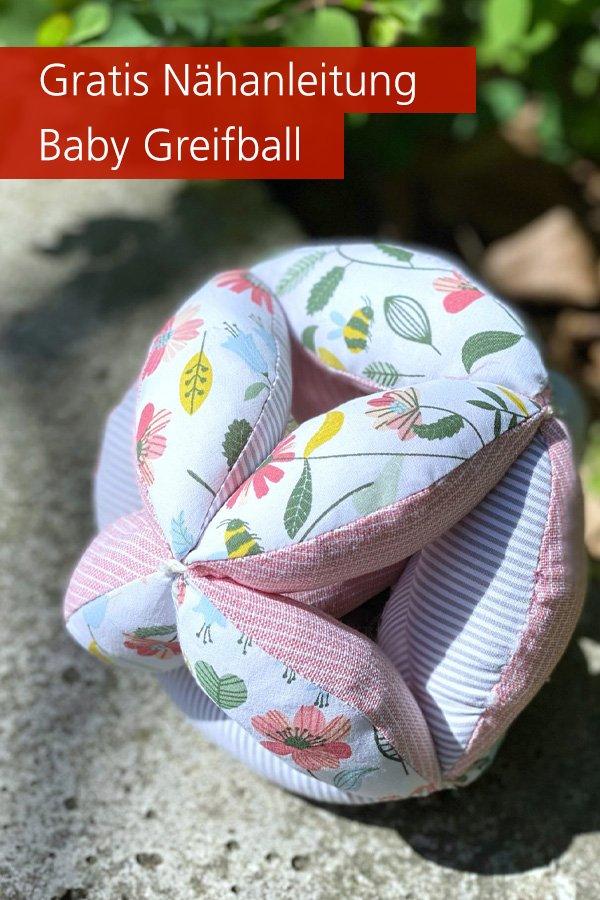 Gratis-Schnittmuster & Nähanleitung: Greifball Baby