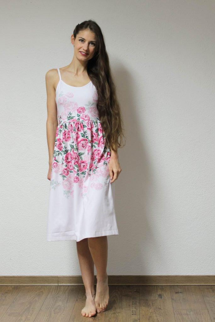 Trägertop als Kleid