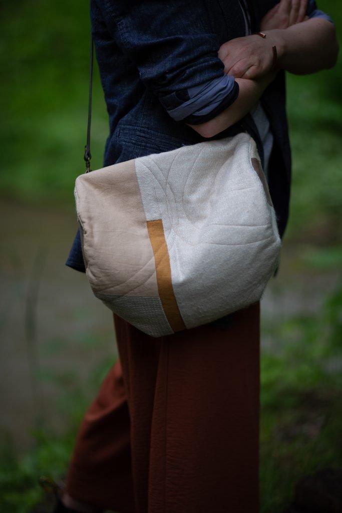 Patchwork-Tasche nähen mit Quilt-Muster