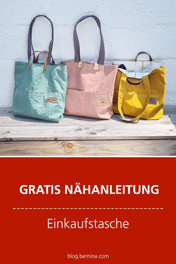 Gratis-Schnittmuster & Nähanleitung: Einkaufstasche / Shopper