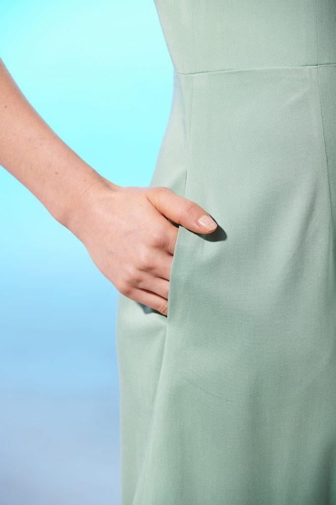 Kleid Rosella Eingrifftasche