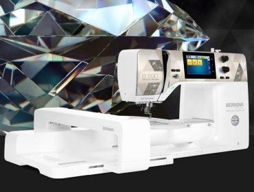 Image of BERNINA 590 Crystal Edition.