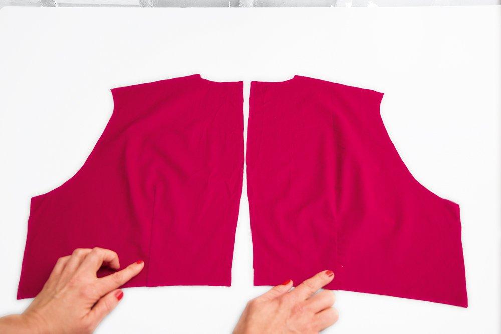 Kleid nähen Teil 2