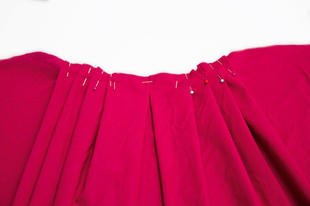 Kleid nähen Teil 17