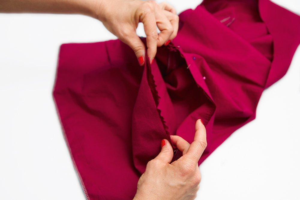 Kleid nähen Teil 16