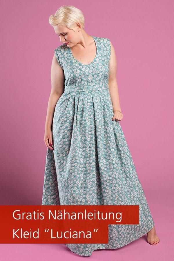 "Gratis-Schnittmuster & Nähanleitung: Kleid ""Luciana"""