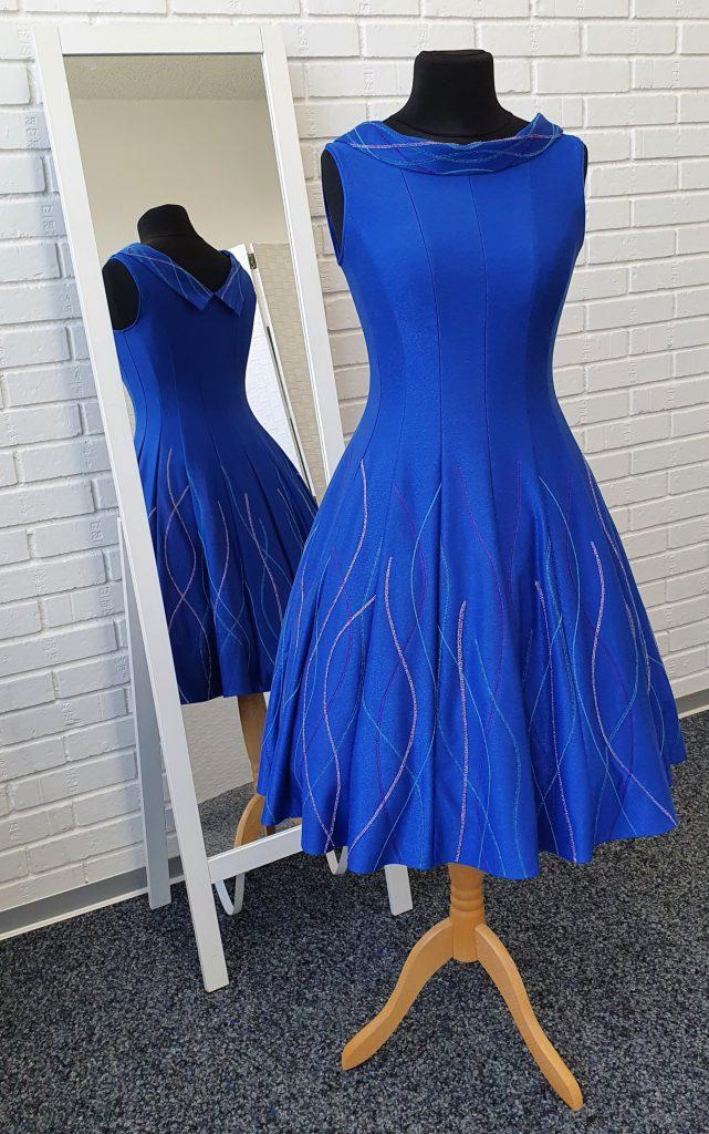 """Princess Line""-Kleid, Gratis-Schnittmuster und Nähanleitung"
