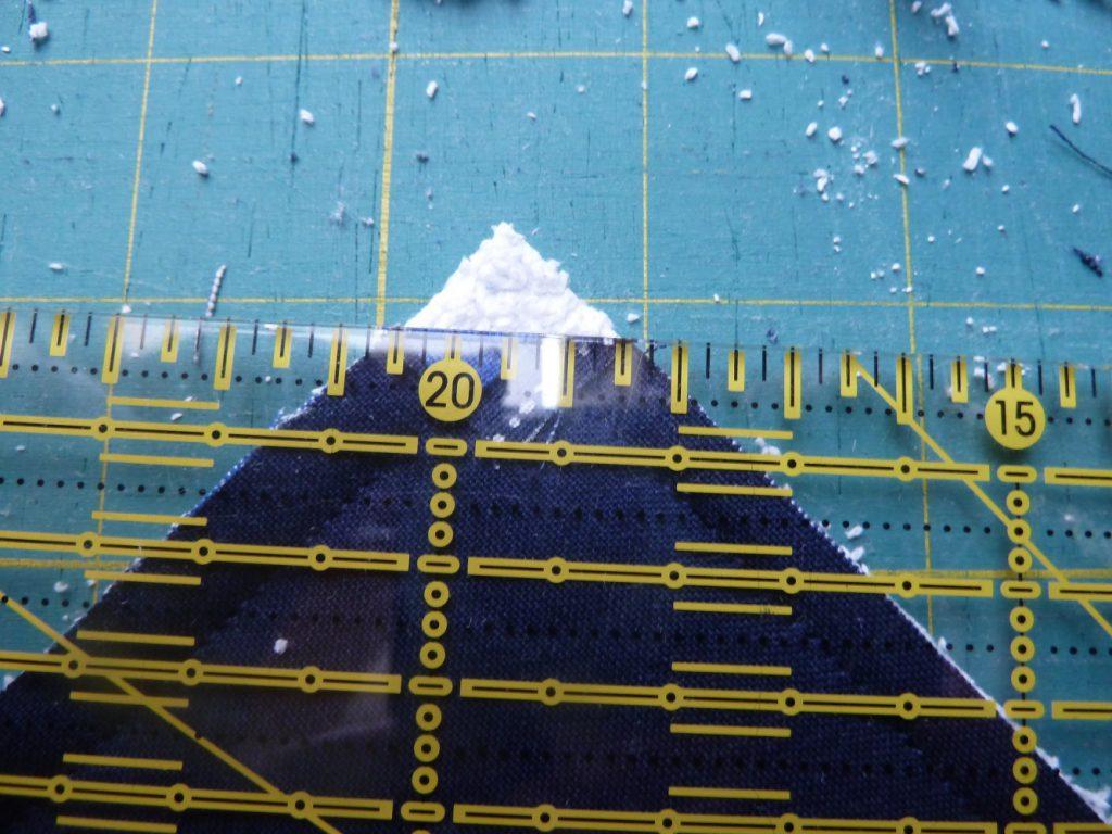 Blockhausmuster = Logcabinblöcke nähen