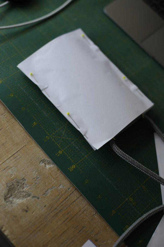 Erstellung des Schnittmusters zum Handyhülle nähen