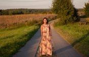 Kleid Charlotta fertig Frontansicht