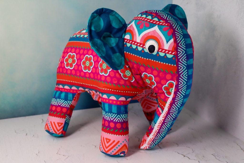 Elefant aus Stoff nähen