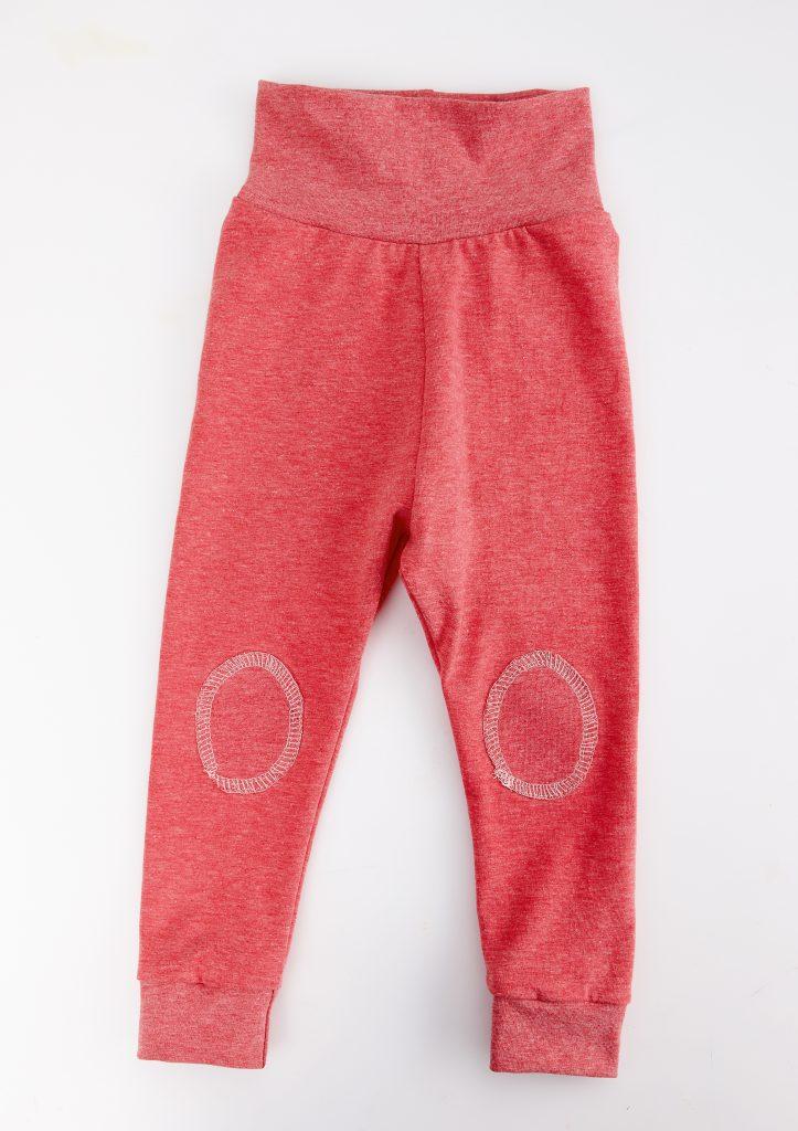 Baby-Leggings mit Patches nähen
