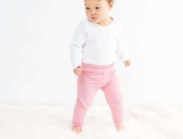 Baby-Leggings – Gratis-Schnittmuster und Nähanleitung