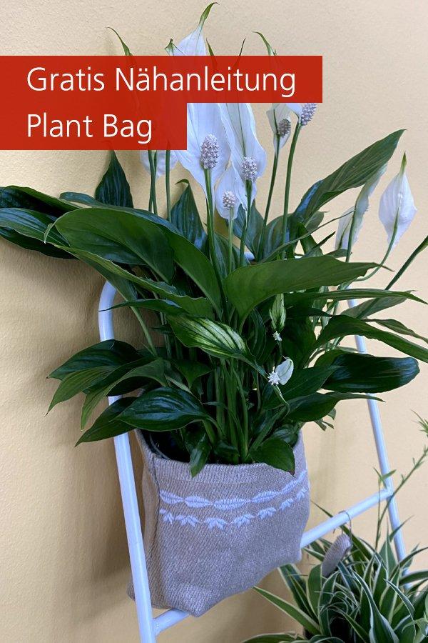 Gratis Nähanleitung: Plant Bag aus Leinen