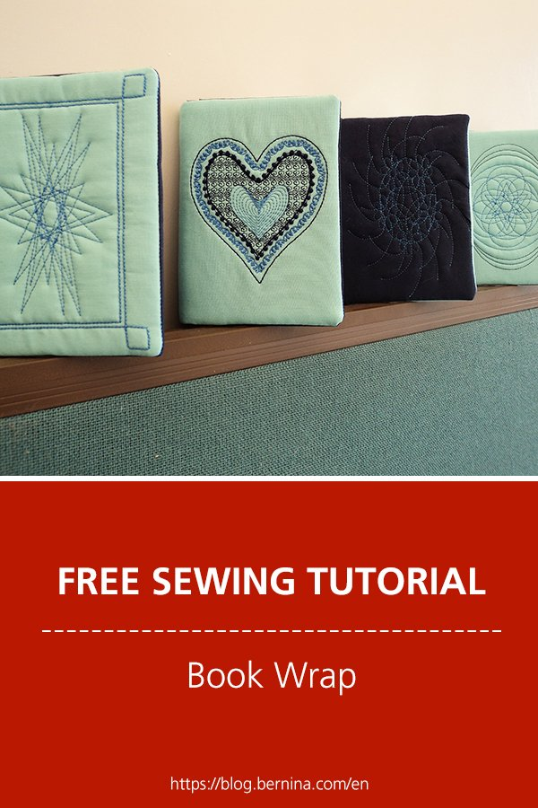 Free sewing instructions: Book Wrap