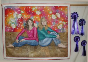 Overall winner at the National Quilt Championships 2014, Esher, Surrey, UK