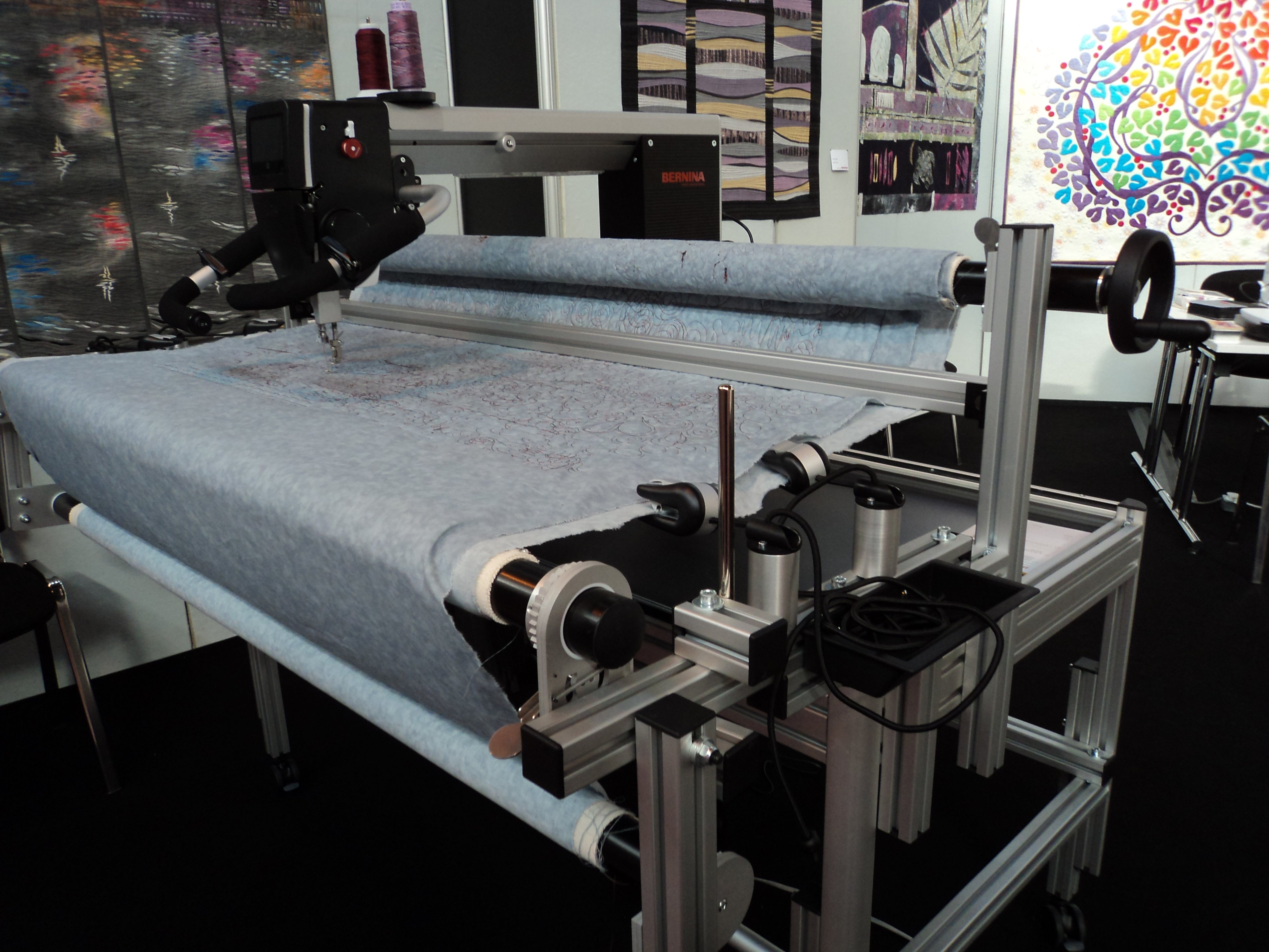 New machine from the Bernina Stable at Festival of Quilts! » BERNINA ...
