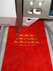 Stitching out pattern fill