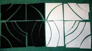 Auseinanderlegen der 2  (30cm) Teile