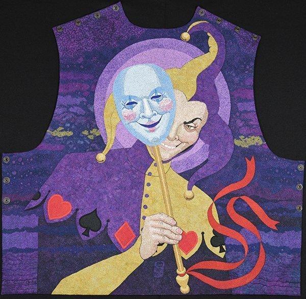 Joker Waistcoat Back